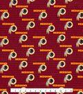 Washington Redskins Cotton Fabric -Mini Print