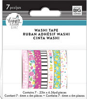 The Happy Planner Girl Washi Tape-Happy Hostess, , hi-res