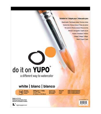 Yupo Paper 10ct 11''x14''-White