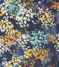 Richloom Multi-Purpose Décor Fabric-Dewdrop Navy