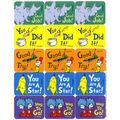 Dr. Seuss Success Stickers 12 Packs