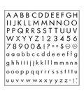 Fiskars Clear Stamps-Basic Font