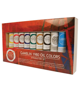 Gamblin 1980 Oil Painting Set