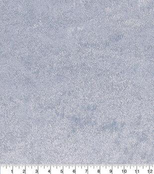 Glitterbug Panne Fabric-Light Blue
