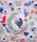 Cottage Life Plastic Layered Die-cut Embellishments 30 pk 12\u0027\u0027x12\u0027\u0027