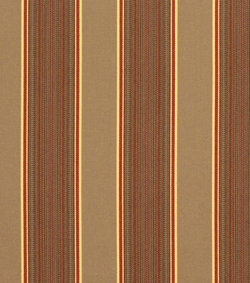 "Sunbrella Outdoor Stripe Fabric 54""-Davidson Redwood"