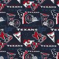 Houston Texans Cotton Fabric-Retro