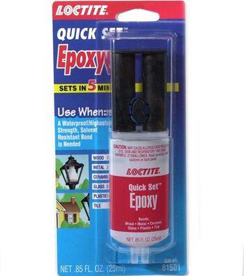 Loctite Master Mend Extra Strength Quick Set Epoxy 1 oz