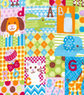 Snuggle Flannel Fabric -Baby Big Patchwork