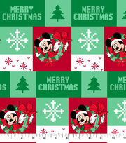 Disney Mickey Mouse Cotton Fabric-Ugly Sweater, , hi-res