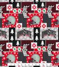 Ohio State University Cotton Fabric-Winter