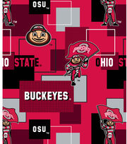 "Ohio State University Buckeyes Cotton Fabric 43""-New Block, , hi-res"