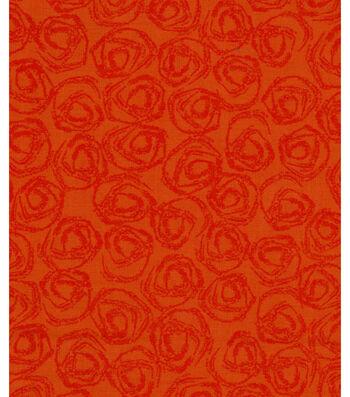 "Harvest Cotton Fabric 43""-Harvest Circles"