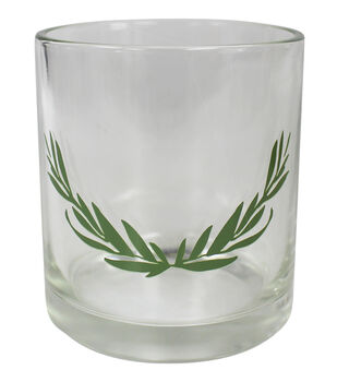Save the Date 2.8''x3.13'' Votive Holder-Greenery