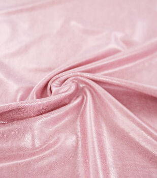 Dance Performance Matte Mystique Poly Spandex Fabric-Taffy Pink