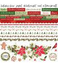 Peace & Joy Cardstock Stickers 12\u0022X12\u0022