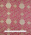 Fashion Brocade Royal Twist Fabric -Tawny Port