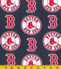 Boston Red Sox Cotton Fabric 58\u0027\u0027-Blue
