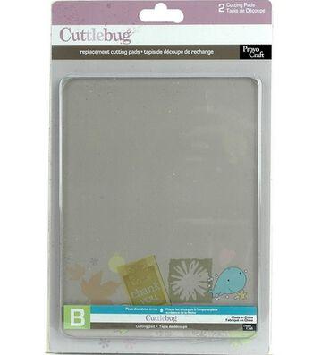 "Cuttlebug Replacement Cutting Mats 6""X7"" Set Of 2"