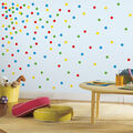 York Wallcoverings Wall Decals-Primary Confetti Dots