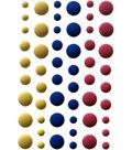 Your Next Stamp 54 pk Gumdrop Embellishments-Matte Circus Fun