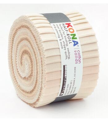 Kona Fabric Roll-Not Quite White