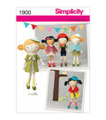 Simplicity Patterns Us1900Os-Simplicity Crafts Doll Clothes-One Size