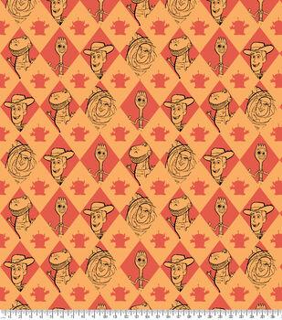 Disney Toy Story 4 Fleece Fabric-Friends