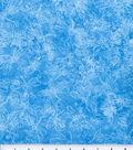 Keepsake Calico Fabric 44\u0022-Sundrenched Dragonfly on Turquoise