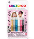 Snazaroo Face Painting Sticks - Girls 6Ct