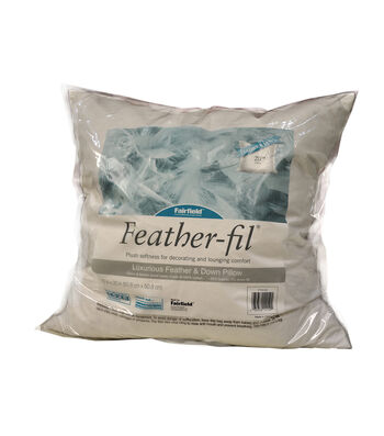 """Fairfield Feather-Fil Feather & Down Pillow 20"""" x 20"""""""