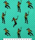 Aquaman Cotton Fabric-Poses