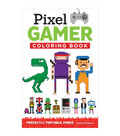 Adult Coloring Book-Design Originals Pixel Gamer