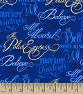 The Polar Express Cotton Print Fabric 57\u0027\u0027-Bell Still Rings