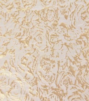 Jacquard Fabric-Printed Floral