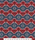 Patriotic Cotton Fabric 45\u0022-Patriotic Paisley