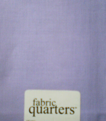 Fabric-Quarters Cotton Fabric-Solids Lavender