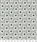 Home Essentials Decor Fabric-Daisy May Mini Pewter