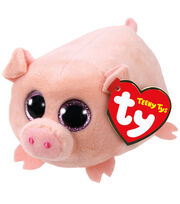 Ty Teeny Tys Plush Curly Pig, , hi-res
