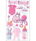 Jolee\u0027s Boutique Le Grande Dimensional Stickers-Baby Girl