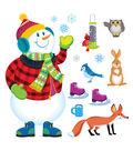 TREND enterprises, Inc. Super Snowman Bulletin Board Set, 2 Sets