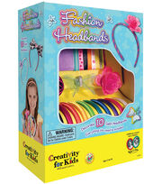Creativity For Kids Fashion Headbands Kit, , hi-res