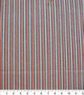 Quilter\u0027s Showcase Cotton Fabric-Red & Navy Stripe