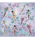 Kaisercraft Fairy Dust 12\u0027\u0027x12\u0027\u0027 Foiled Cardstock-Flutter