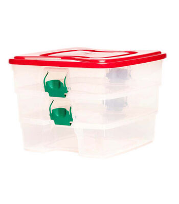 Homz 4 Layer Stack And Carry Storage Container