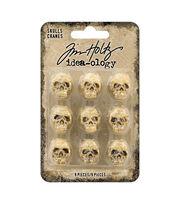 Tim Holtz Idea-ology Halloween-Skulls, , hi-res
