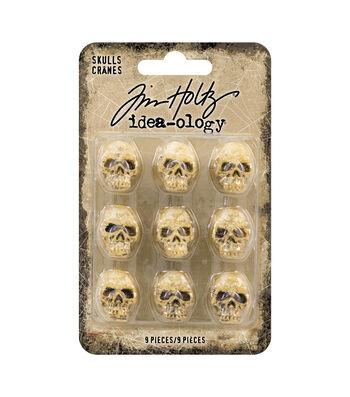 Tim Holtz Idea-ology Halloween-Skulls