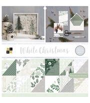 "DCWV 12""x12"" Premium Stack-White Christmas, , hi-res"
