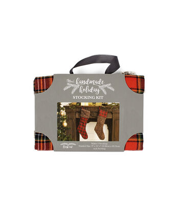 It's Sew Simple Handmade Holiday Fresh Cut Stocking Kit