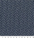 Quilter\u0027s Showcase Cotton Fabric -Daisy on Navy